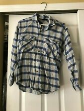 Boys Bugle Boy Blue / Gray  Collared Shirt Size M