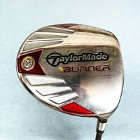 Taylormade Burner Driver. 9.5, Stiff - Very Good Condition # T105