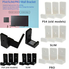 Wall Mount Wall Bracket Holder For PlayStation 4 PS4 Slim Pro Game Console Part