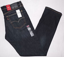 NWT Levi's 511 Mens 36x34 Slim Jeans 2-Way Stretch Dark Blue W36 L34 Levis