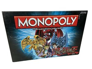 Monopoly Rare Yu-Gi-Oh Edition Board Game COMPLETE Retired Yugioh
