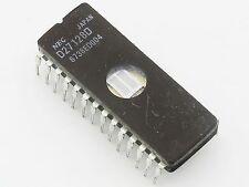 UV eprom 8bits NEC D27128D 128Kb = 16kox8 nettoyée effacée compatible 27C128