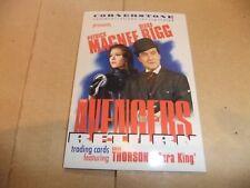 THE AVENGERS DIANA RIGG TV CORNERSTONE CHASE PREMIER CARD 9 PATRICK MacNEE
