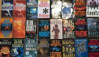 Dean Koontz Audiobook Collection 65+ Audio Book Titles Unabridged 1972 to 2020