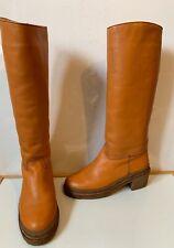 Aifos Italian Leather Fur Lined Boots Size UK 6 EU 39