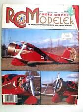 Radio Contrôle Modeleur Magazine Janvier 1990 Anglais Modélisme