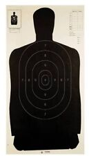 Champion LE B27 Black Police Silhouette Target (Pack Of 100)