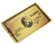 American Express Oro Banca carta di credito 8GB USB 2.0 Flash Drive Memory Stick