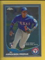 Jurickson Profar RC 2013 Topps Chrome Update Rookie Debut Card Rangers Padres