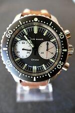 Kemmner Vintage Hand-Winding Limited Edition Chronograph Watch Uhr Reloj Montre