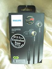 Philips TX2 Black In-Ear High Precision Sound Headphone Headset Earphone Mic
