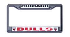 Chicago Bulls Chrome Metal License Frame [NEW] NBA Car Plate Auto Tag CDG