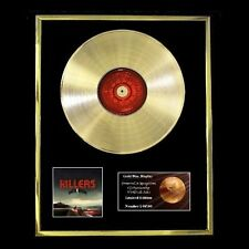 THE KILLERS BATTLE BORN CD GOLD DISC FREE P+P!