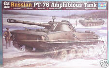 Trumpeter, 1/35 Russian PT-76 Amphibious Tank  00380