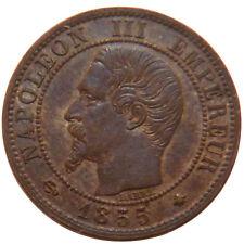 Monnaies, Second Empire, 1 Centime Napoléon III Tête Nue #51071