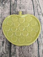 "Jonathan Adler Green Apple Plate Small Dessert Decorative 6"""