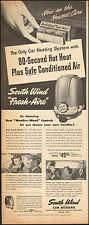 1949 Vintage ad for South Wind Car Heaters` Retro Photo   (081016)