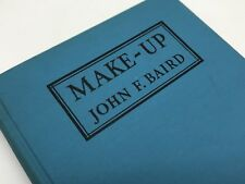 MAKE-UP by John F. Baird: 1946 Craft Manual for Theater Actors (RF891)