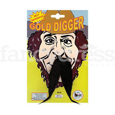 Wild West Gold Digger Prospector Minero Bigote tache Fancy Dress Accesorio