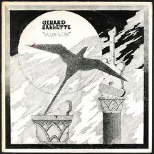 GERARD SALLETTE - Plus Loin - 1976 France LP free jazz avant garde
