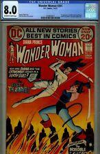 Wonder Woman #201-CGC 8.0- HIGRADE DC CATWOMAN CVR & STRY- 1972
