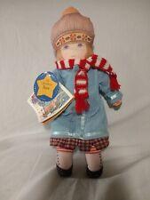 "Vintage 1992 Hallmark Mary Engelbreit Doll ""Anne"" Cloth Rag Doll"