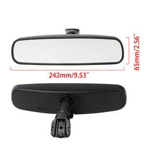 For Nissan Xterra 2005-2015 Black Car Front Interior Rear View Mirror Glass