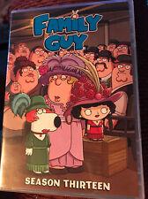 Family Guy: Season 13 (DVD, 2015, 3-Disc Set) Region 1