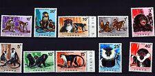 CONGO REP. DEMOCRATIQUE, 1971, SERIE COMPLETE , ANIMAUX, SINGE, NEUF ** 88M597