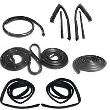 1968-1972 Nova Weatherstrip Seal Kit 2 Door Sedan 8 Pieces Metro New