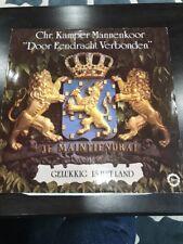 Chr. Kamper Mannenkoor Door Eendracht Verbonden Record Album Rare