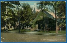 St. James Episcopal Church And Rectory, Titusville, Pennsylvania -Early Postcard