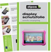 2x Schutzfolie für Amazon Fire HD 8 Kids Edition (2017) matt Displayschutzfolie