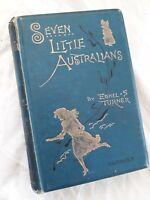 Ethel Turner, Seven Little Australians,7th Edition circa 1890s