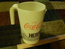 New listing Enjoy Coca-Cola at Hershey Park Chocolate Town Usa (50oz) Plastic Pitcher ~ Vtg