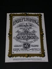 Quicksilver Messenger Service Psychedelic Avalon Postcard by Rick Griffin Fd069