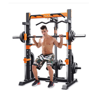 MultiFunctional Comprehensive Training Machine Squat Rack Home Gym Muscle bench