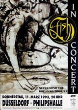 FISH - MARILLION - 1993 - Konzertplakat - Never mind - Tourposter - Düsseldorf