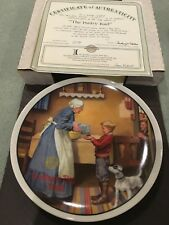 1986 The Pantry Raid Knowles Collector's Plate, Coa, Nob