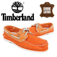 Timberland Classic Suede Nubuck Leather Boat Shoes Men's Casual Deck Loafers