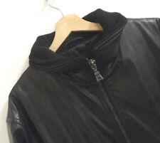Mens Hugo Boss Faux Leather President Style Jacket Coat Size 50  XXXL  : J680