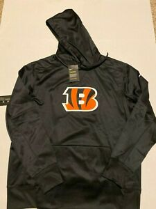 Cincinnati Bengals Performance Logo Essential Hoodie Nike Men's Size: 2XL NWT