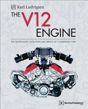 The V12 Engine Book: Technology-Evolution 1909-2005~Delahaye~Ferrari~NEW 2016 HC