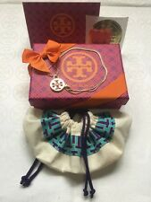 """Tory Burch Gold Plated 18"""" Necklace 5pc Gift Set"""