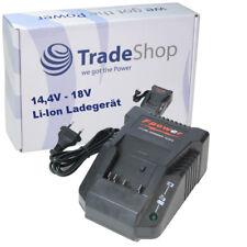 Trade-Shop Akku Ladestation Ladegerät 14,4V - 18V für Bosch Baustellen Radio