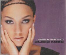 C.D.MUSIC F857    GIRLFRIEND  ALICIA KEYS   SINGLE   4 TRACK  CD