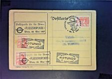 Austria 1937 First Military Flight Day Airmail Cover (Folded) - Z798