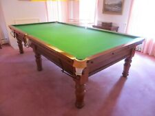 10ft Antique Snooker Table with Free Professional Delivery & Installation