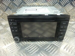 Nissan Note 2015 Sat Nav CD Player Radio Head Unit 7513750206