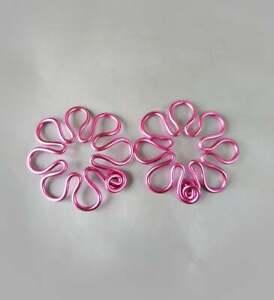 Flower Nipple Rings handmade Nipple Rings, non Piercing Nipple shield